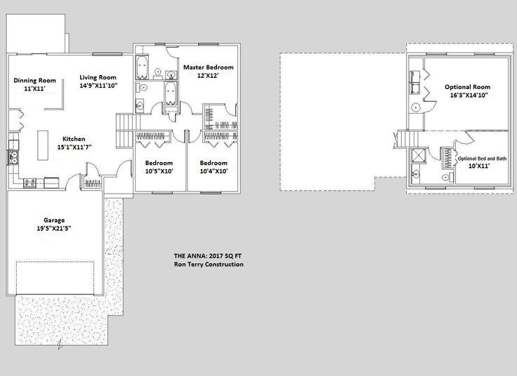 20 Unique Tri Level Floor Plans