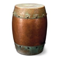 Metal drum table | Home Style | Pinterest