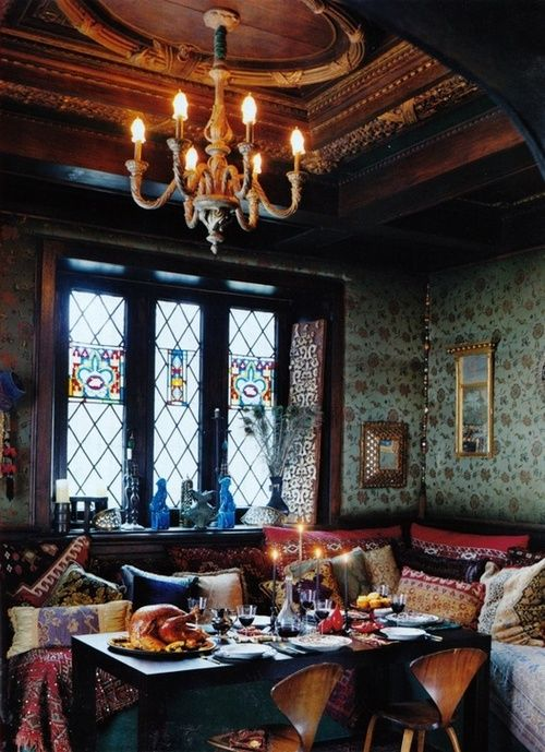 Fancy Boho Dining Room (for my Fancy Boho house I'll have one day)