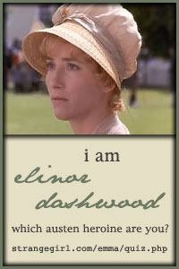 I am indeed Elinor Dashwood