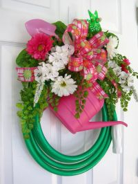 GREEN GARDEN HOSE Wreath