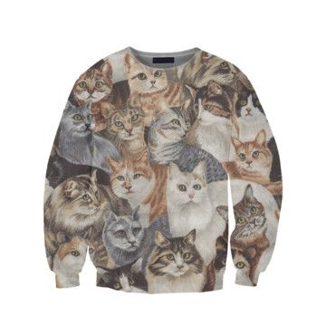 Here Kitty Kitty - Cats will like you even more with this sweatshirt on