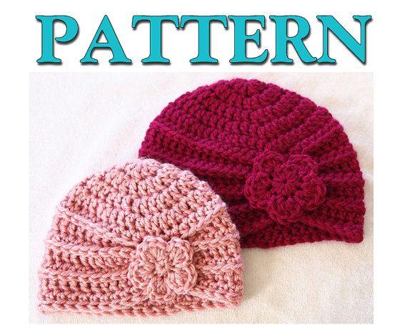 Turban Crochet Graph Patterns