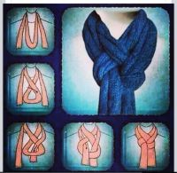 Fun scarf tie | My Style Pinboard | Pinterest