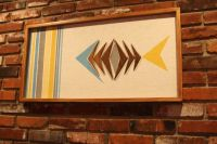 Mid Century / Danish Modern WITCO Styled Tiki Fish Wall Art
