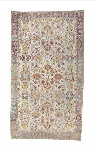 An Agra carpet,  North India, last quarter 19th century