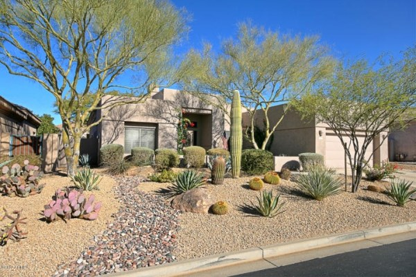 xeriscape rock landscaping design