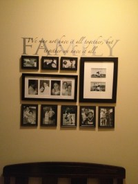 Family Gallery Wall | Decorating ideas | Pinterest