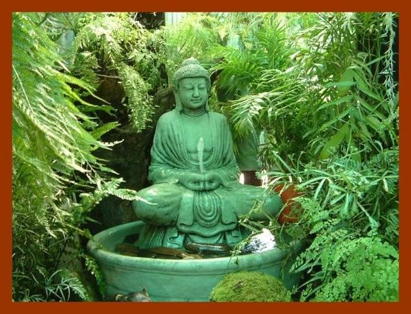 Buddha Zen Garden Ideas Photograph  Buddhist garden  Medit