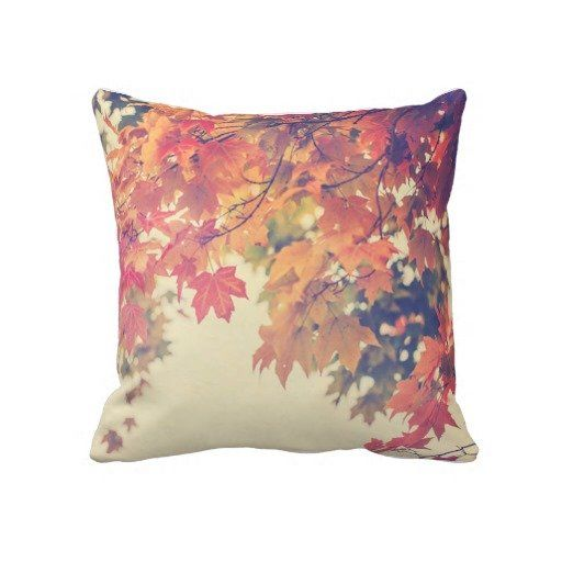 Decorative Fall Pillows  Fall decor and fashion  Pinterest