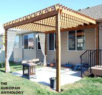 DIY Backyard Pergola | ideas for porch | Pinterest