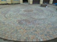 Circular Paver Pattern | the landscape | Pinterest