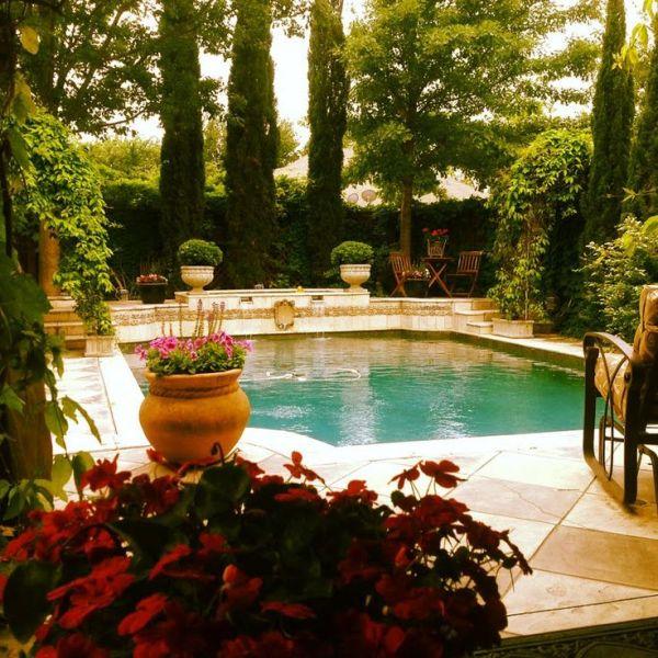 tuscan-inspired swimming pools