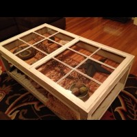 Coffee table made with old windows | DIY window tables ...
