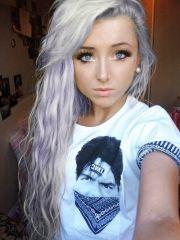 light purple hair 2014