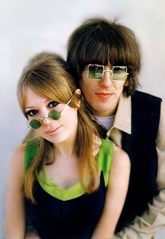 Pattie Boyd & George Harrison