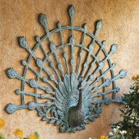 Peacock Outdoor Wall Art - Frontgate
