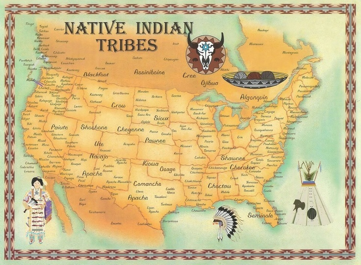 Native American Shawnee Indian Tribe