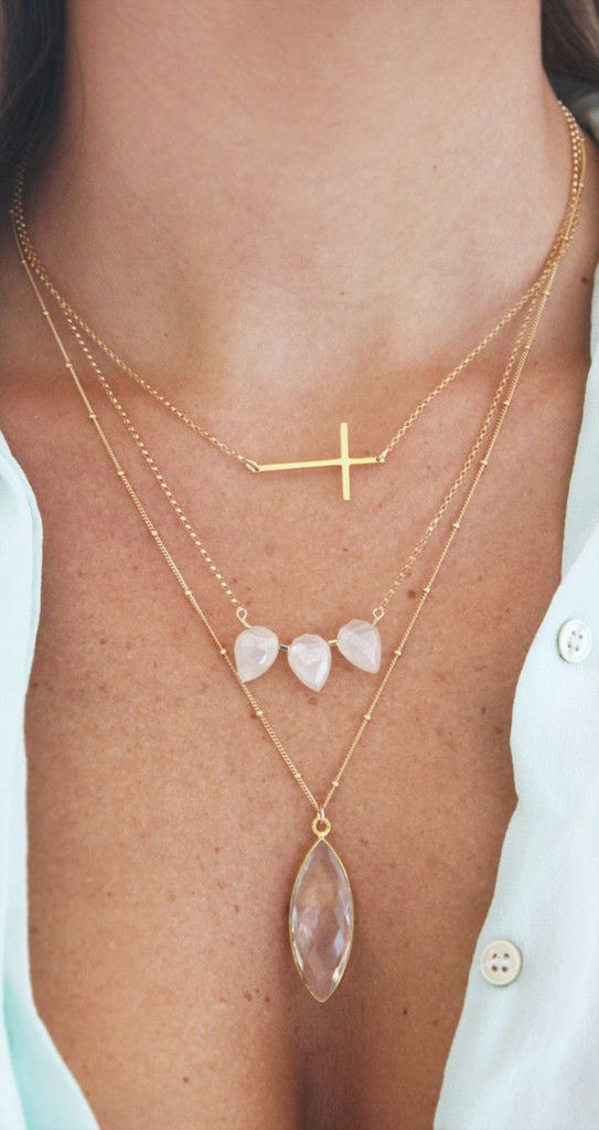 Crystal Marquise Necklace