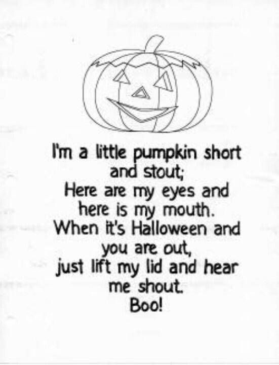 halloween songs preschool fingerplays