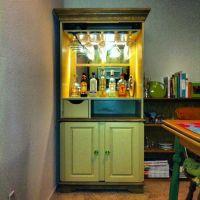 diy repurpose tv cabinet into bar   just b.CAUSE