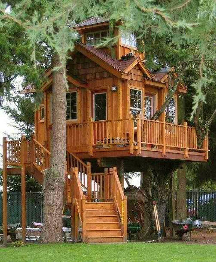 I treehouses     Treehouse masters  Pinterest