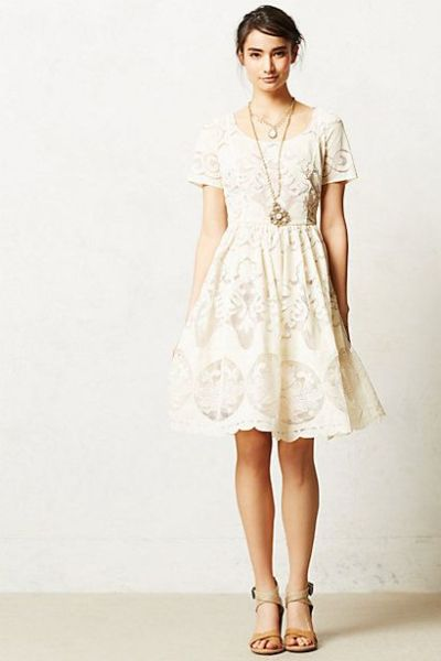Ivoire Dress #anthropologie