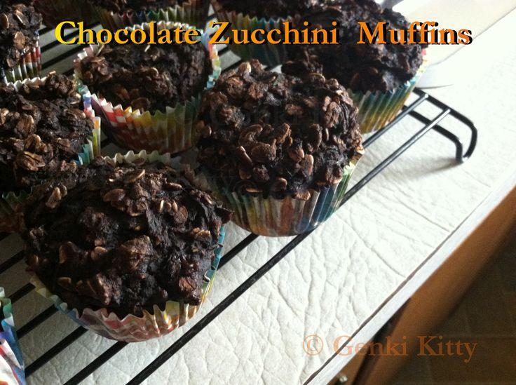 Chocolate Zucchini Muffin Recipe Vegan