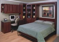 Home Office with Murphy Bed! | Home Improvement | Pinterest