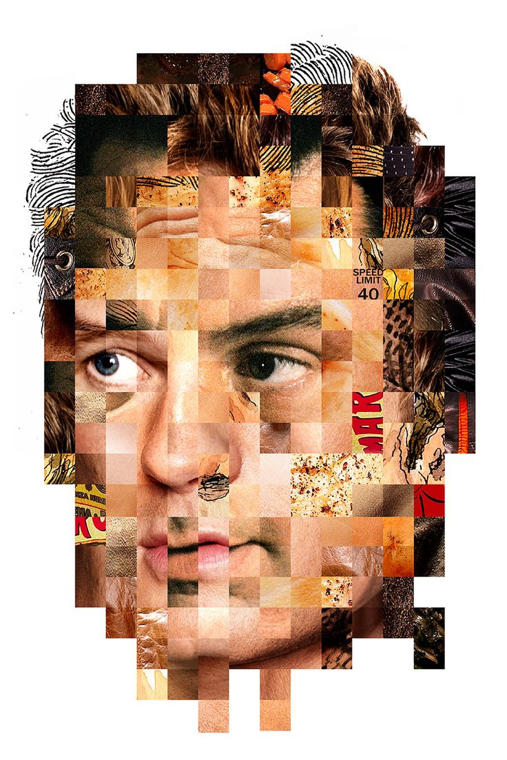 Face Collages - 1 - Erin Jang   Portfolio