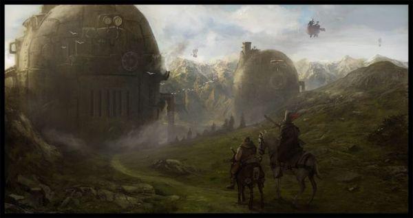 steampunk landscape 4