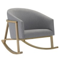West Elm Rocker - gray rocking chair | Gray Nursery ...