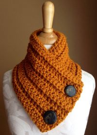 Crochet scarf on Etsy, $35.00 | My creations | Pinterest