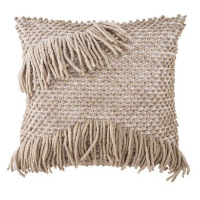 fringe pillow  Home  Pinterest