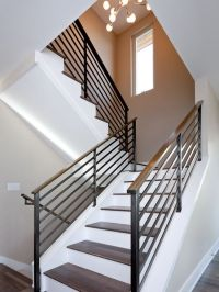 Simple Wrought Iron Stair Railings | Fish Shack Staircase ...