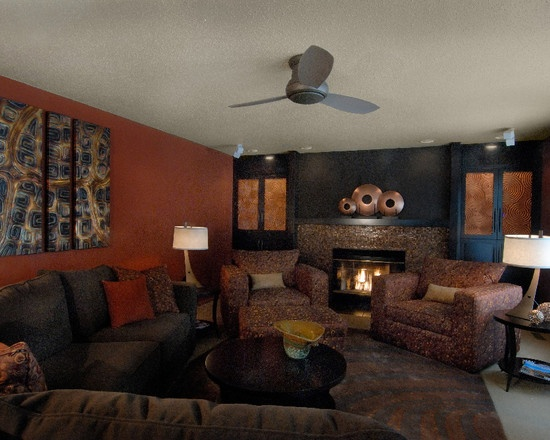 Chocolate And Burnt Orange Living Room Ideas Nakedsnakepress Beauteous Burnt Orange And Brown Living Room Concept