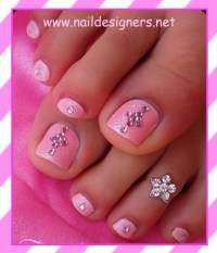 Really cute toe nail design | Hair, Make-Up, Nails, & Skin ...