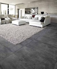 Concrete floor in living room | Home decor/remodeling ...