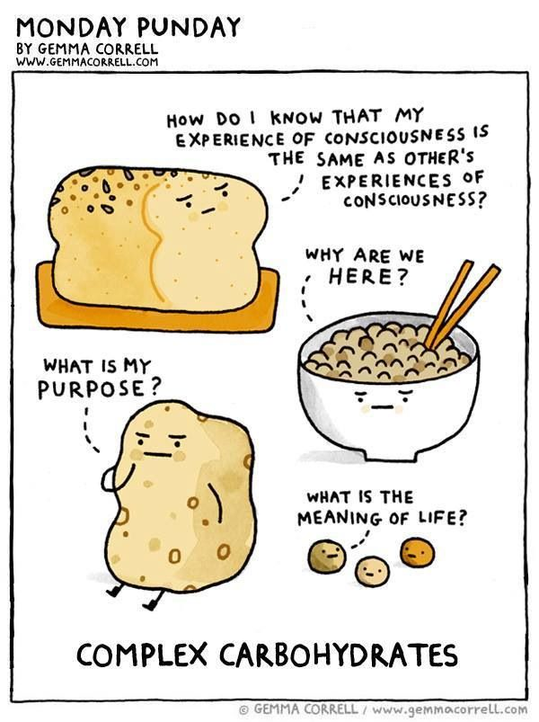 Complex carbohydrates | Nutrition Cartoons | Pinterest