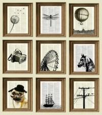 DIY silhouette wall art | Ideas/DIY | Pinterest