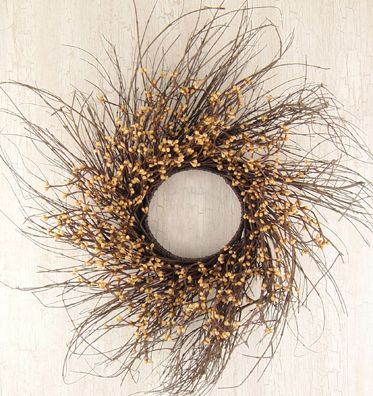Twig Wreath. For the front door for Fall.