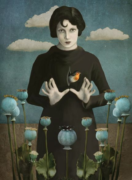Daria Petrilli - Poppies lady