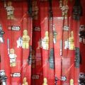 Next lego star wars curtains rrp 163 35 new next tab top curtains