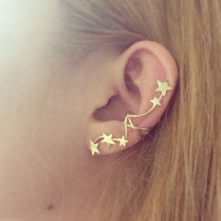 Star earcuffs