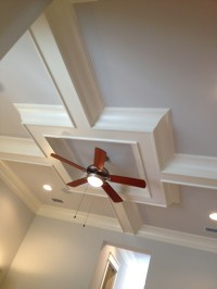 Boxed ceiling design | For the Home | Pinterest