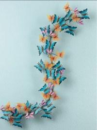 3D butterfly wall art | Butterflies | Pinterest