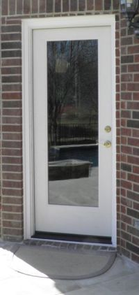 Exterior full glass door | Remodel Ideas Mom's house ...