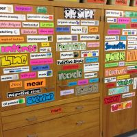 art word wall | The Art Room | Pinterest