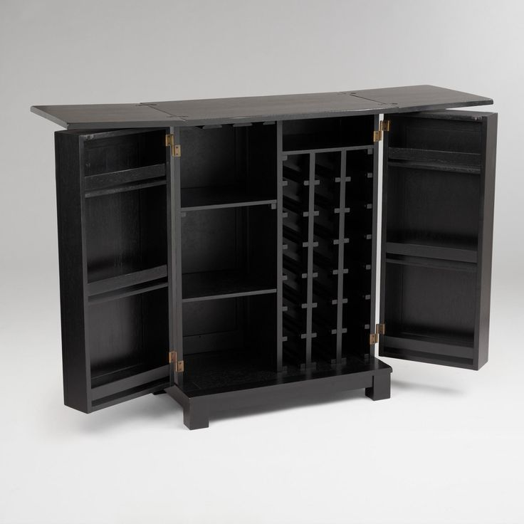DIY bar cabinetliquor cabinet  How Do It Info