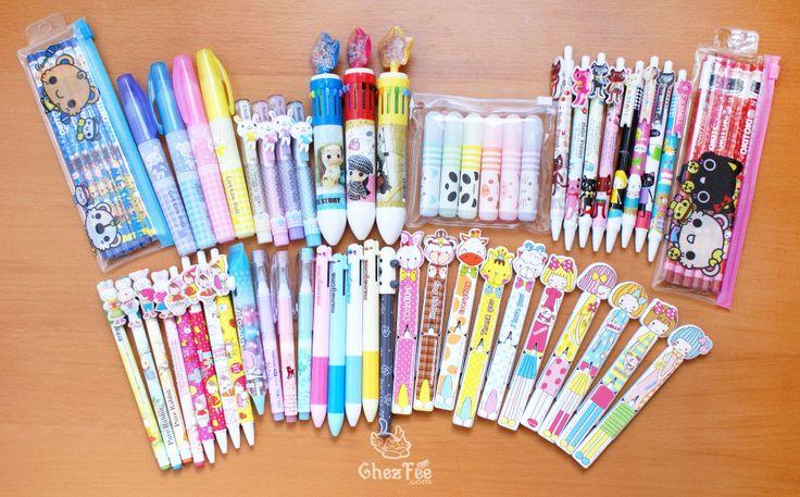 stylo kawaii de la papeterie kawaii de chezfee.com - Boutique kawaii en ligne pas cher